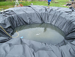 double pond liner